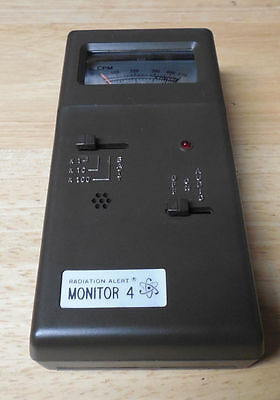 Radiation Alert Monitor 4 Handheld Detector With Case