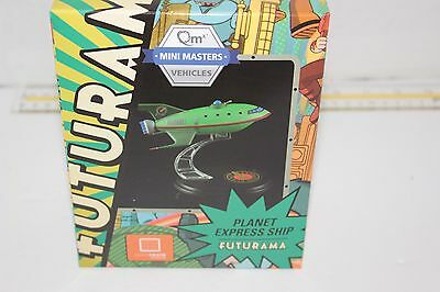 Loot Crate July 2016 Exclusive QMx Mini Masters Futurama Planet Express Ship New