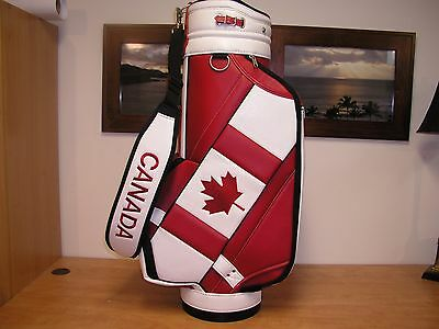 Brand New! Official Team Canada Golf Bag for the 2016 Olympic Summer Games