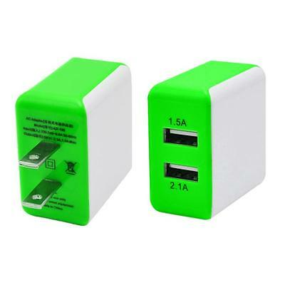 3A 2 Ports US Plug USB Wall Travel AC Charger Adapter To Samsung Galaxy S7 GN