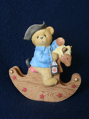 Cherished Teddies - Paul - On Rocking Horse Figurine - Special Issue - 676888