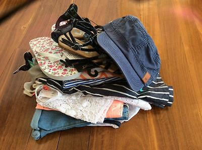Free Post Girls NWT Bulk Summer Clothes Sz 12 x 13 Items,Roxy,Country Road (2)