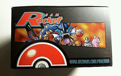 Pokemon Team Rocket Empty Booster Box (No Cards!)