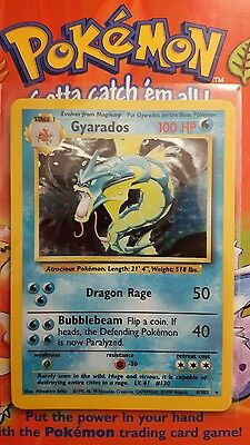 Pokemon Base Set Gyarados 6/102 Rare  Holo In Nm+ Condition See Pictures! !!!