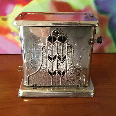 Antique~Vintage Mastercraft Toaster / No. 85 / Circa 1920'S / Art Deco Styling