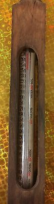Antique Floating Dairy Thermometer Complete Made In Germany