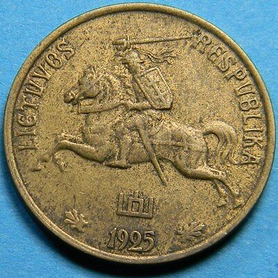 Lithuania 1925 10 Centu - Year Type Coin