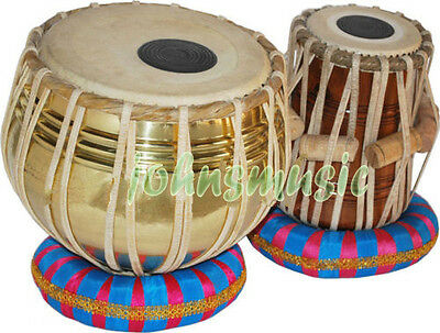 "Tabla Drum Set-Designer_Brass""2.5 Kg:Bayan-Sheesham Dayan- Profes"