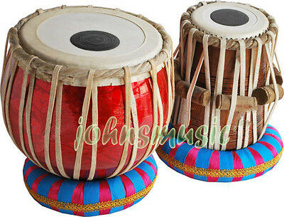 Tabla Drum Set-Student Model-_Shesham Wood Dayan- Hammer/Cushion/Book AWSM