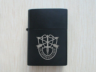 Black US Army Special Forces  Polished Chrome Finished Lighter New