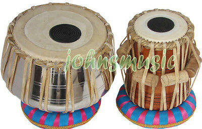Tabla Drums Set~2.5 Kg Still Bayan~Dayan~Free!!! Gig Bag~Cushion_Tuning_Hammer