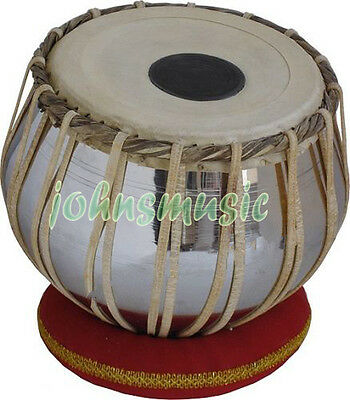 "Tabla Drums Set~2.5 Kg""brass""bayan~Dayan~Free!!! Gig Bag~Cushion~Tuning Hammer"""