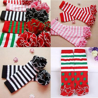 Boys Girls Ballet Toddler Soft Cotton Stocking Baby Leg Warmer Socks
