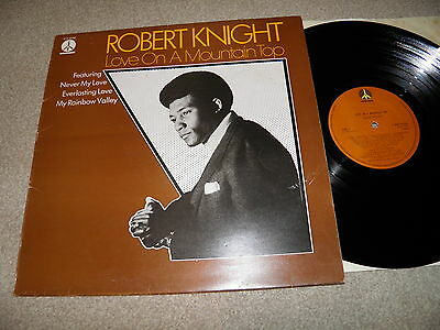 Robert Knight - Love on a mountain top - Monument MNT 65956 UK LP