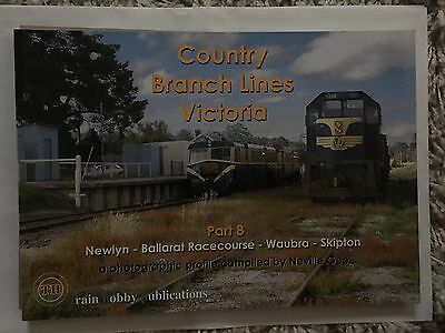 Train Hobby Publications Country Branch Lines Victoria 8