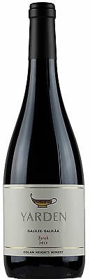 Golan Heights Winery Yarden Syrah 2012