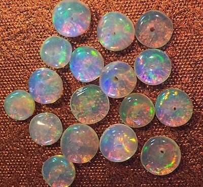 BEADS Natural OPAL MULTI-Color FLASHING