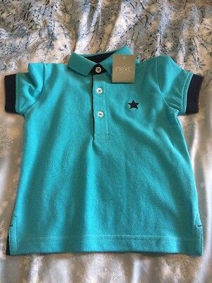 NEW Boys Next Polo Shirt  9-12 Months