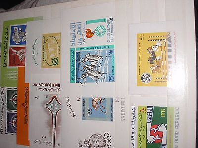 Syria 1960s miniature sheets mint