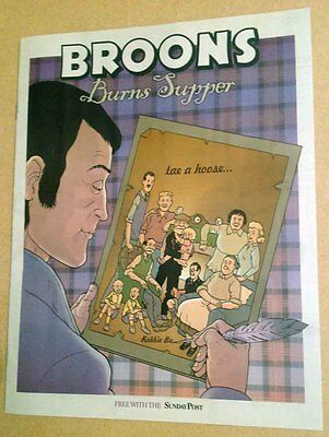 The BROONS Burns Supper 2017 (New Material) Sunday Post Supplement Robert BURNS
