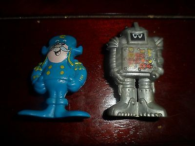 Cap'n Crunch and Sogmaster Captain Crunch Board Game Figurines 1987