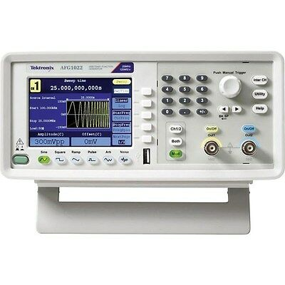 Tektronix AFG1022 Function Generator 2 Channel 25 MHz
