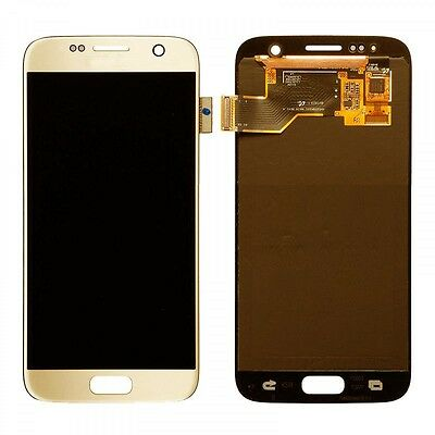 Samsung Galaxy S7 (SM-G930F) LCD SCREEN PANEL REPLACEMENT - GOLD