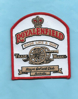(Very Rare) Royal Enfield Club Australia Patch