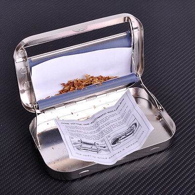 New Automatic Tobacco Rolling Machine Cigarette Roller Box Case for 110mm Papers