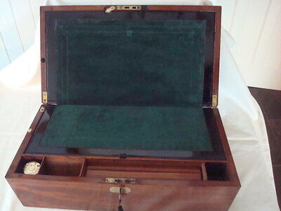 Antique writing slope early 19th century