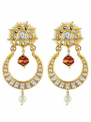 Traditional Earring Antique Kundan Designer Ethnic Wedding Party Wear Jewelry