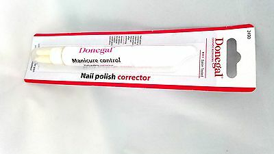 Pl/Donegal Equalizer Remover,Nail Polish Corrector Pen Manicure Control,