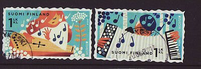 Finland 2014 Used - EUROPA - set of 2 stamps