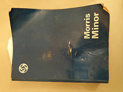 classic morris 1000 workshop manual