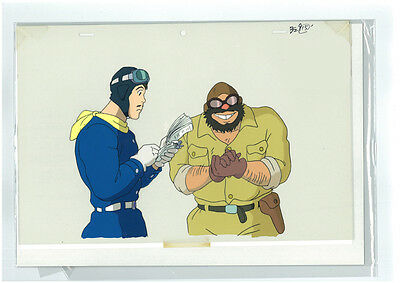 Japanese Anime Studio Ghibli Official Cel  Porco Rosso Limited Rare #454
