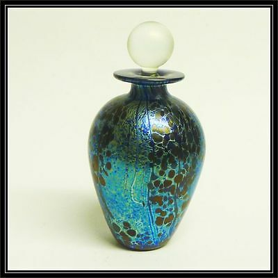 Isle of Wight studio glass scent bottle-Summer fruits