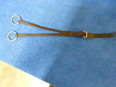 English Leather Running Martingale Attachement - Brown