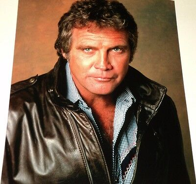 Lee Majors / The Fall Guy /  8 X 10  Color  Photo