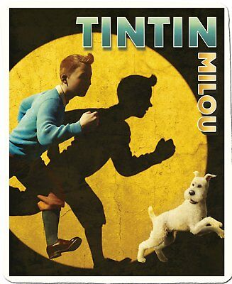 Vêtement Tintin Plaid polaire, Tintin Spotlight