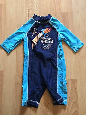 Mothecare Baby Boys Swim/Sun Suit Perfect Condition 6-9 Months RRP £13