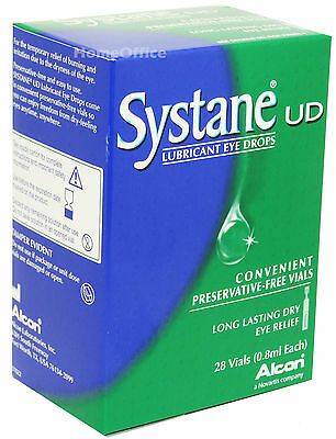 Systane UD Lubricating Eye Drops 28 Individual Vials - Dry Eye Relief