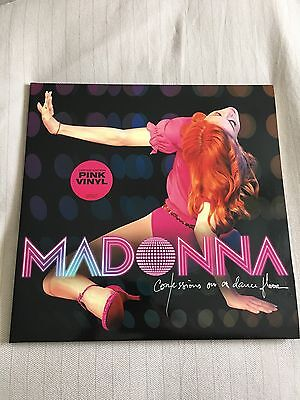 Madonna Confessions On A Dance Floor 2006 UK Pink Vinyl Double LP