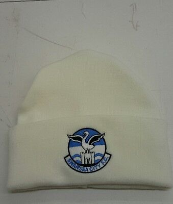Swansea City Wooly Hat  NEW Beanie Hat The Swans