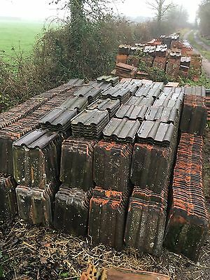 Clay Double Roman Roof Tiles Roofing Slate Reclaimed