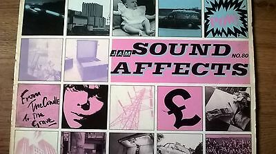 THE JAM...SOUND AFFECTS...ORIGINAL 1980 LP.. no 80