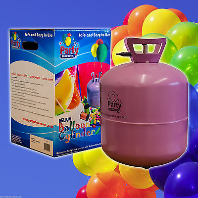 Disposable Helium Cylinder Fill 50 Balloons Birthday Party Supplies Wedding