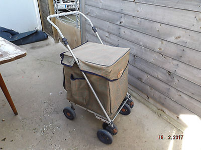 Sholley Eco 2000 Shopping Trolly Walking Aid, Large Shopping Capacity,steerable