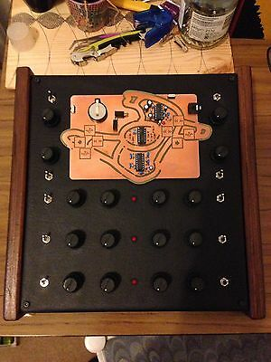 Mute Synth Custom Modified by A.S.M.O  dirty electronics analog circuit bent