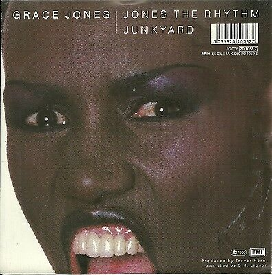 Grace Jones - Jones the Rhythm (1985)  GERMANY 7""