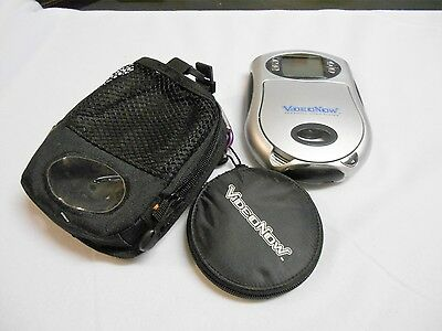 2003 Hasbro Silver Video Now  Personal Video Player w/ 6 discs w/case